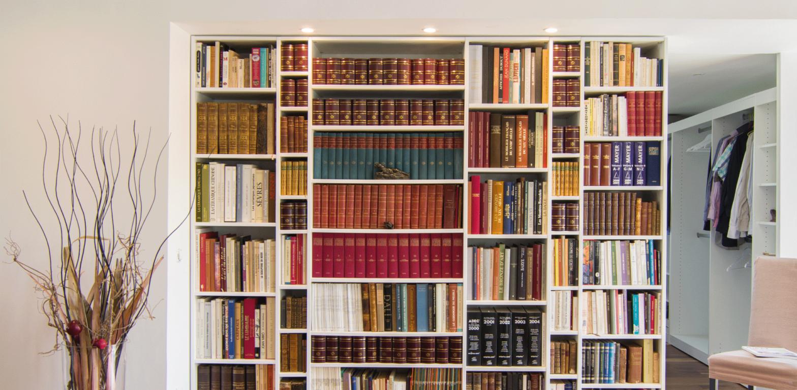 bibliothèque sur mesure etapes mobibam