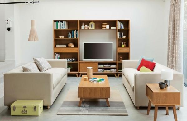 salon scandinave décoration homestaging
