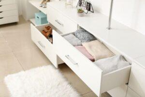 Commode dressing blanc