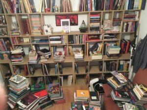 Rangement bibliothèque pour BD
