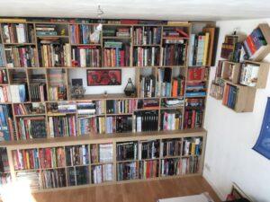 Bibliothèque pour BD finalisée