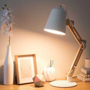 amenager bureau lampe