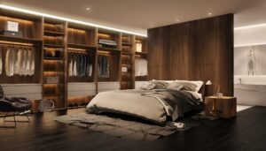 comment amenager sa chambre meuble dressing