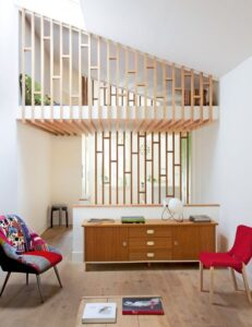 Mezzanine en bois originale