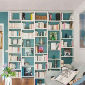 mobibam bibliothèque sur mesure sans fond blanc