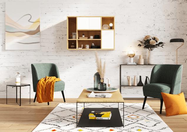 mobibam meuble haut sur mesure bois blanc premium