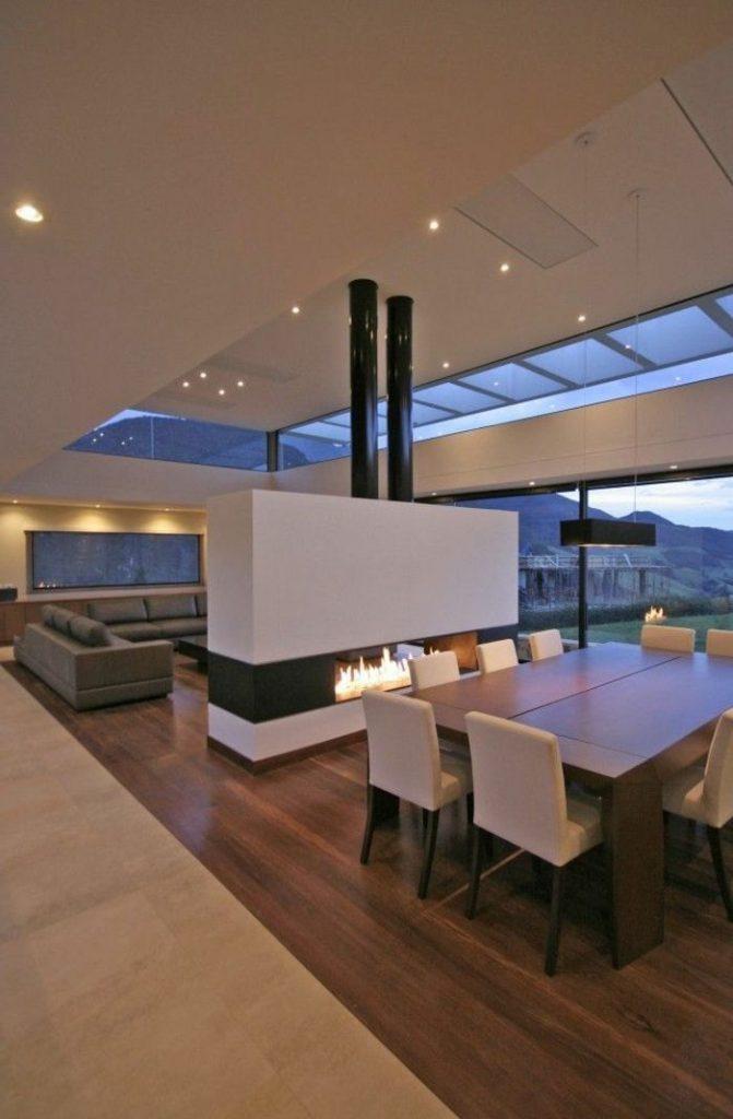 salle à manger moderne contemporain
