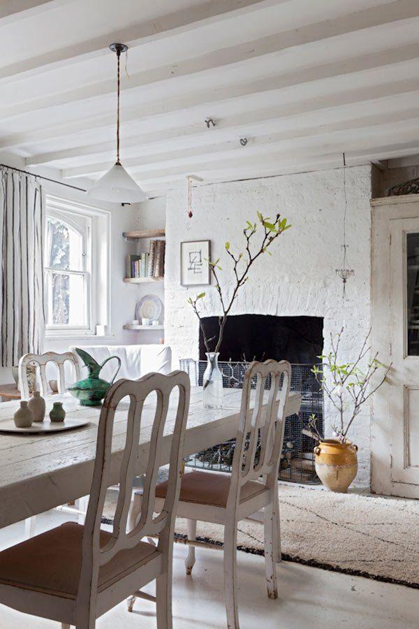 salle à manger vintage décoration
