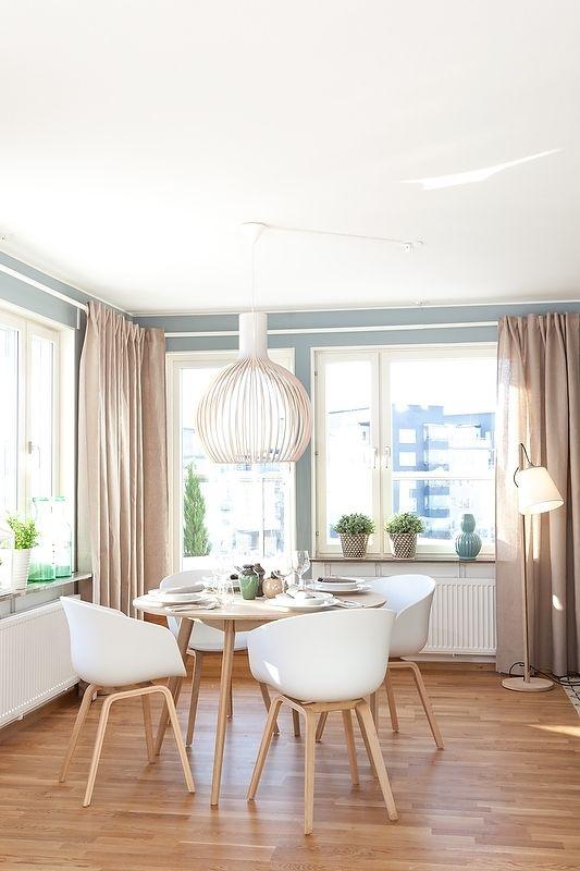salle à manger scandinave moderne décoration