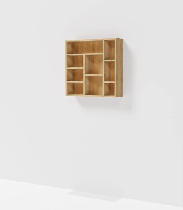 meuble haut sur mesure étagère bois