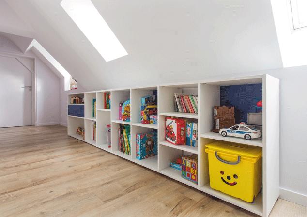 meuble bas sur mesure chambre enfant