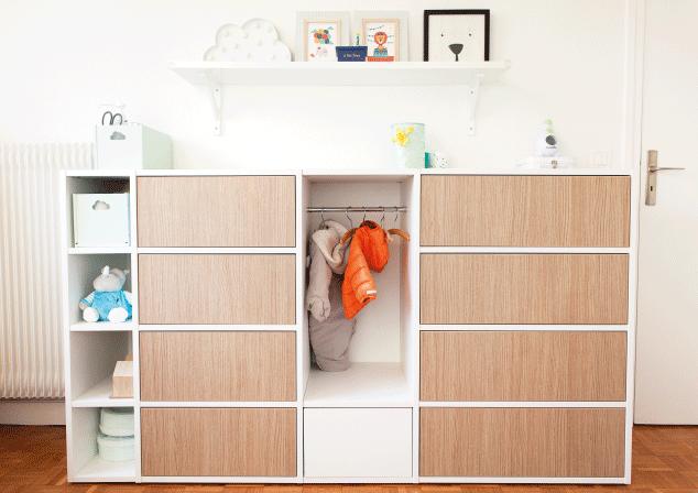 meuble bas sur mesure pour bébé