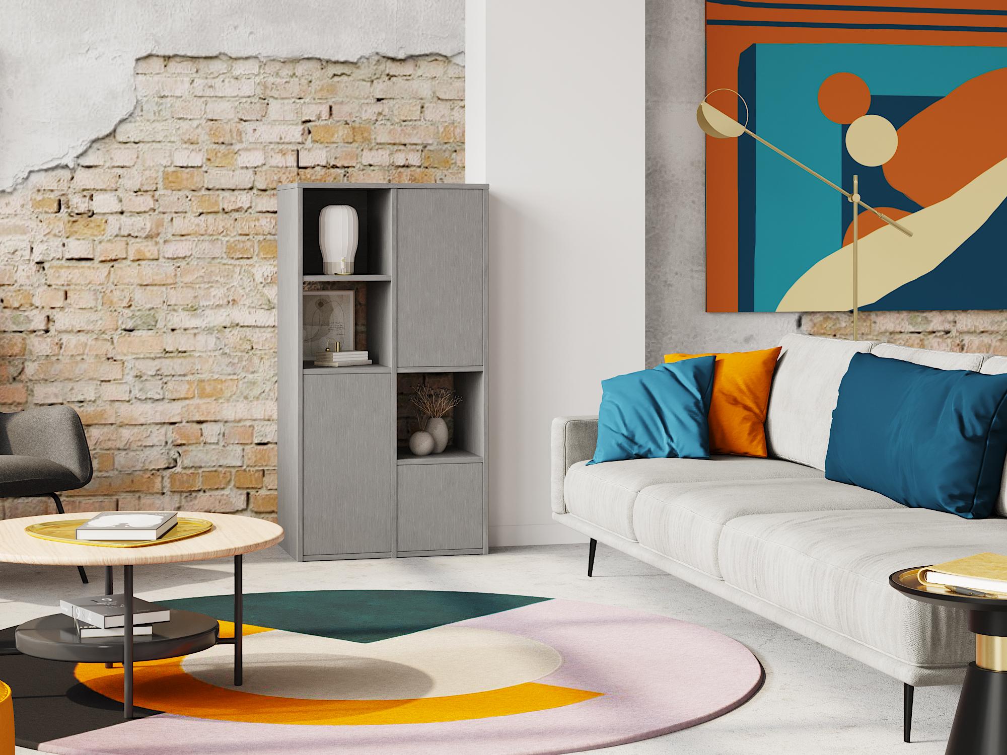 meuble en métal sur mesure intérieur moderne