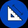 pictogramme dimensions meuble sur mesure
