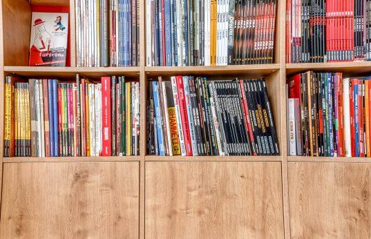 bibliothèque bd sur mesure